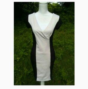 BOGO!  Black & Cream Colorblind dress sz Large